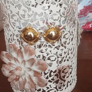 Liz Claiborne gold Fashion earrings